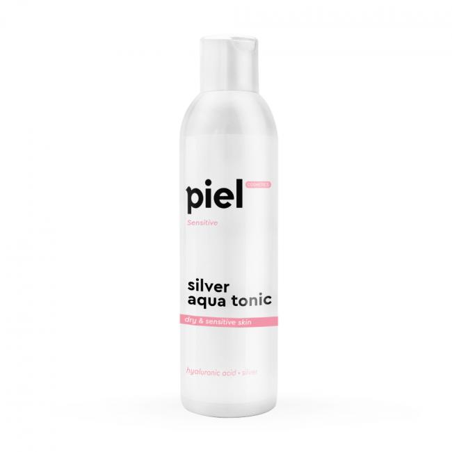 PIEL Зволожуючий тонік для сухої і чутливої шкіри Silver Aqua Tonic