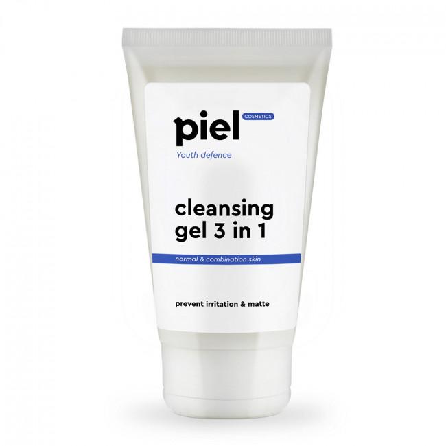 PIEL Гель для умывания нормальной и комбинированной кожи Cleansing Gel 3 in 1