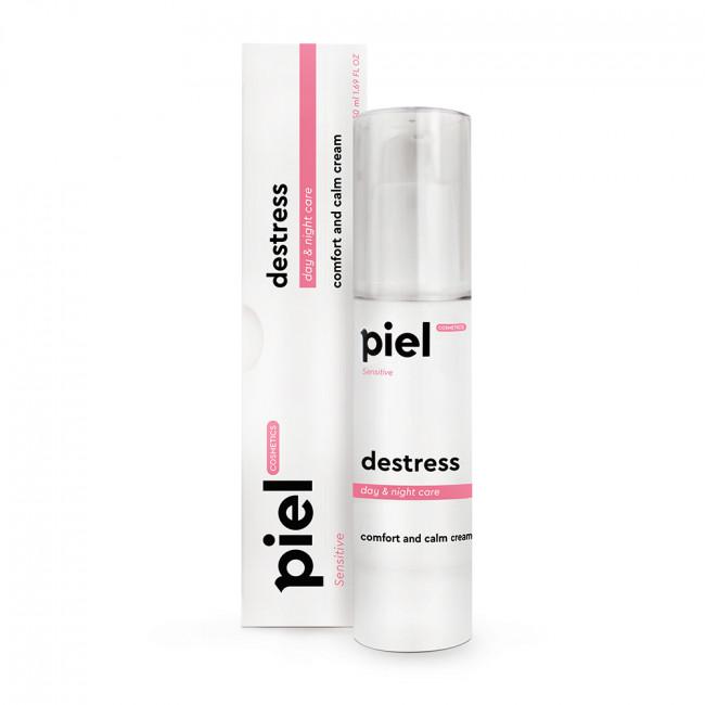 PIEL Ультразволожуючий крем з натуральним SPF день / ніч Destress Cream
