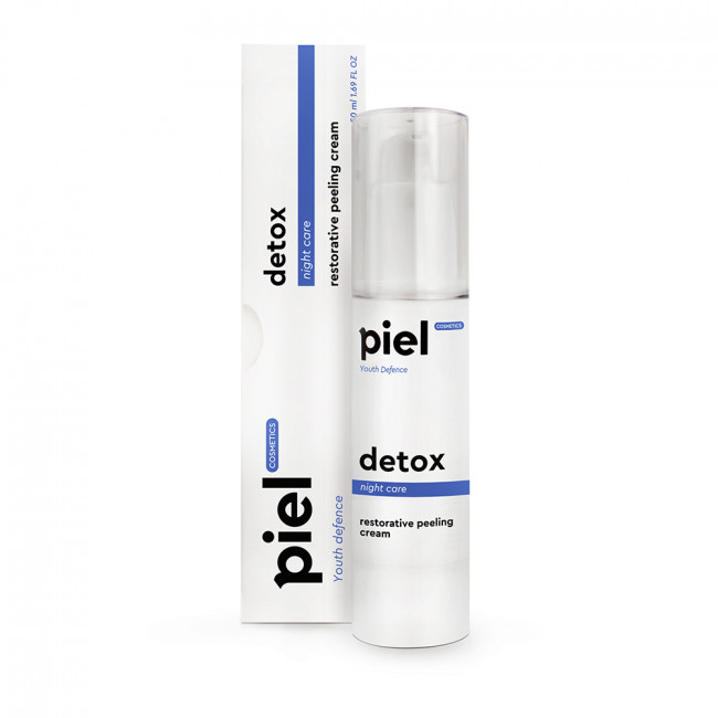 PIEL Нічний регенеруючий крем з пілінг-ефектом Detox Cream