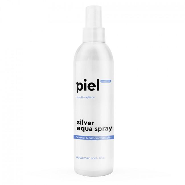PIEL Зволожуючий спрей для нормальної та комбінованої шкіри Silver Aqua Spray