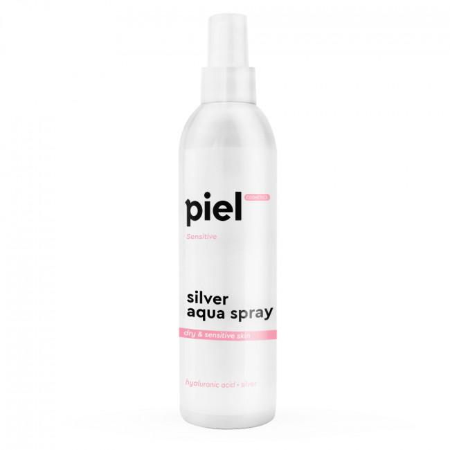 PIEL Зволожуючий спрей для сухої і чутливої шкіри Silver Aqua Spray