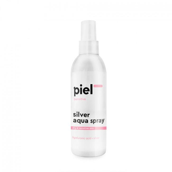 PIEL Увлажняющий спрей для сухой и чувствительной кожи Silver Aqua Spray Travel Size