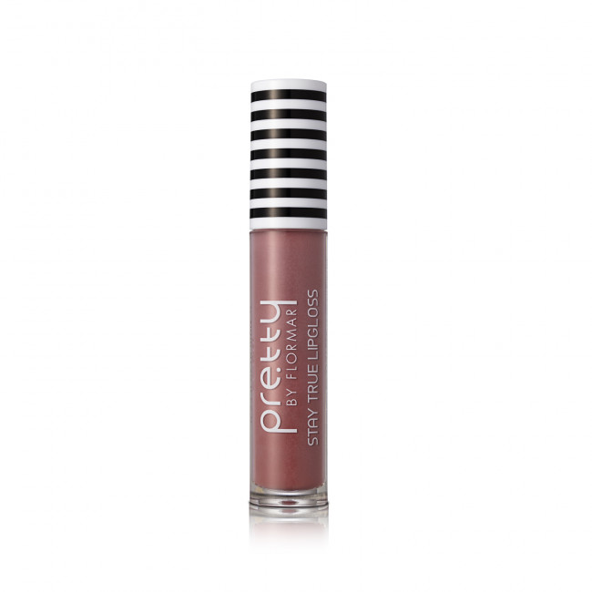 PRETTY STAY TRUE LIPGLOSS блиск для губ №004, Nude