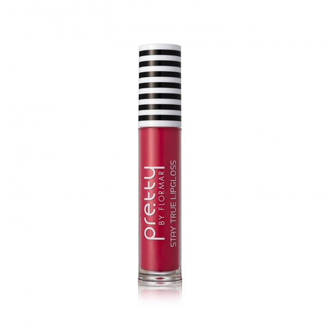PRETTY STAY TRUE LIPGLOSS блеск для губ №012, Vermillion