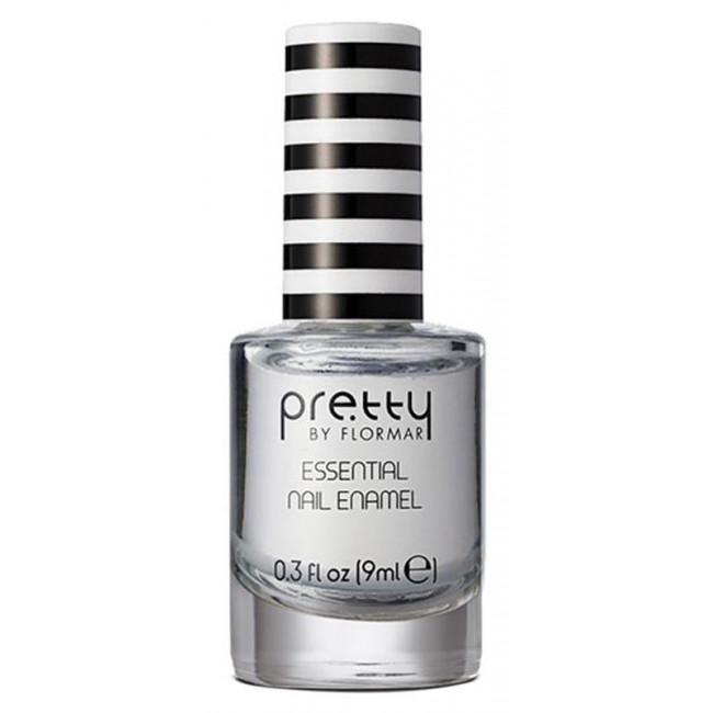 PRETTY ESSENTIAL NAIL ENAMEL лак для нігтів №001, Crystal Clear