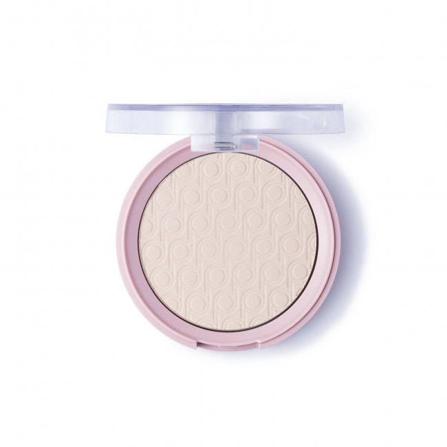 PRETTY PRESSED POWDER пудра компактная №001, Light Porcelain