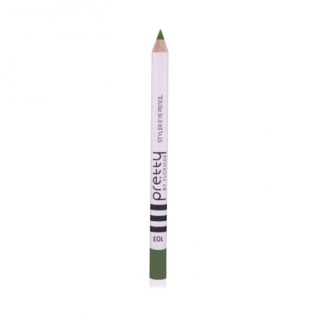 PRETTY EYE PENCIL олівець для очей №103, Charcoal