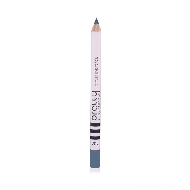 PRETTY EYE PENCIL олівець для очей №107, Army Green