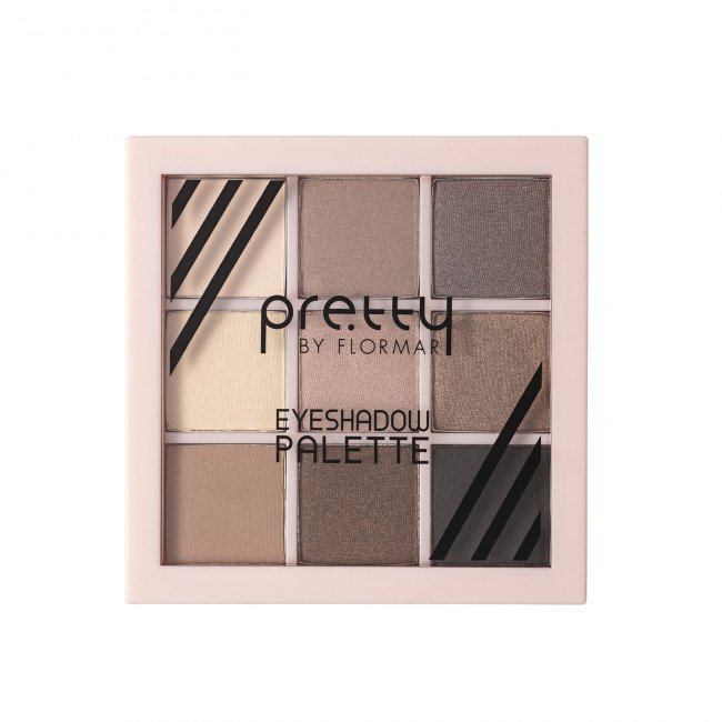 PRETTY EYESHADOW PALETTE палетка теней для глаз №02, WIND
