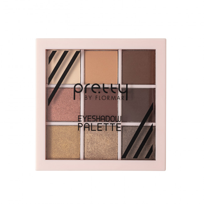 PRETTY EYESHADOW PALETTE палетка теней для глаз №03, FIRE
