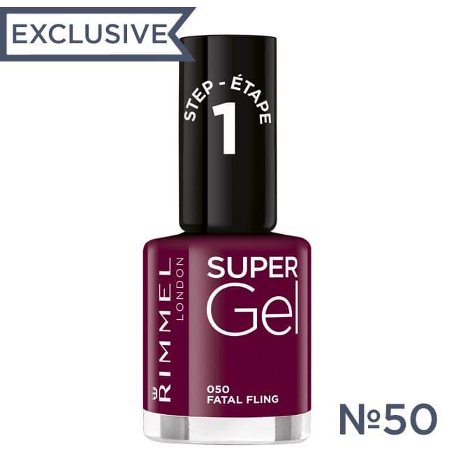 RIMMEL Гель лак для ногтей SUPER GEL №050