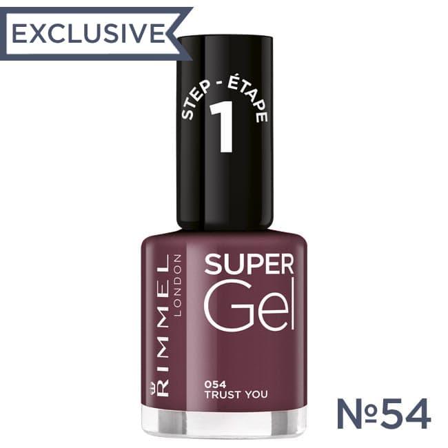 RIMMEL Гель лак для ногтей SUPER GEL №054