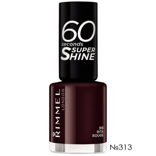 RIMMEL Лак для ногтей 60 SECONDS №313