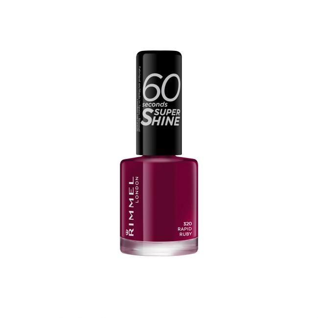 RIMMEL Лак для ногтей 60 SECONDS №320