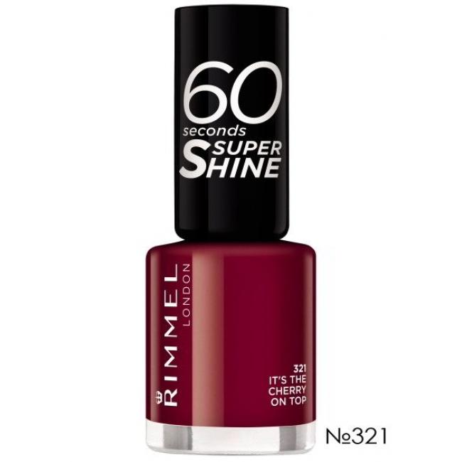 RIMMEL Лак для ногтей 60 SECONDS №321