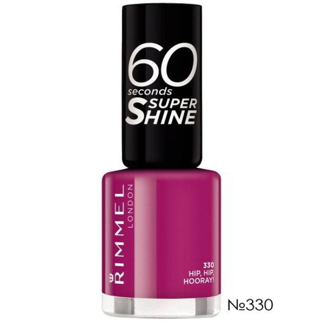 RIMMEL Лак для ногтей 60 SECONDS №330