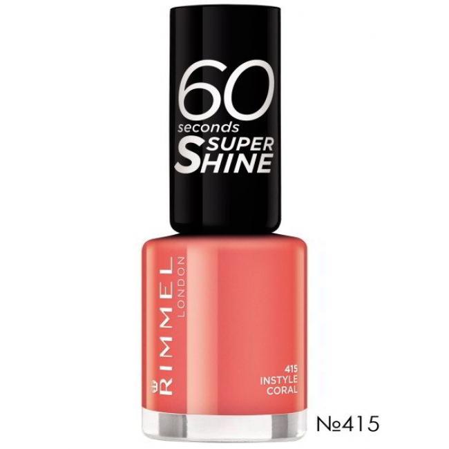 RIMMEL Лак для ногтей 60 SECONDS №415