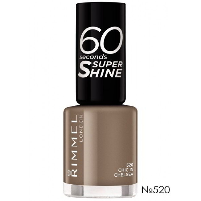 RIMMEL Лак для ногтей 60 SECONDS №520