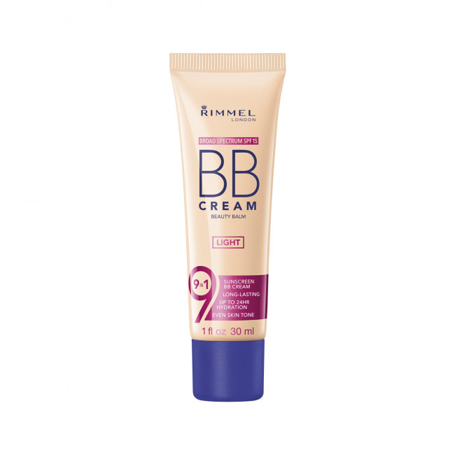 RIMMEL Основа тональна BB CREAM 9-in-1 №01, 30 мл