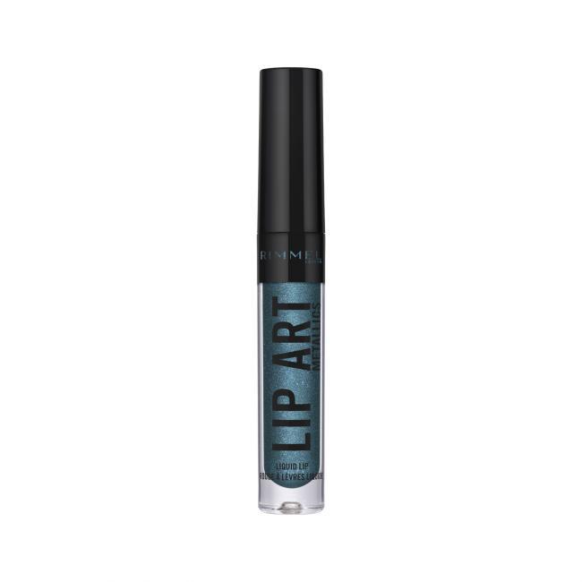 RIMMEL Помада рідка для губ HALLOWEEN LIP ART з ефектом металік №080