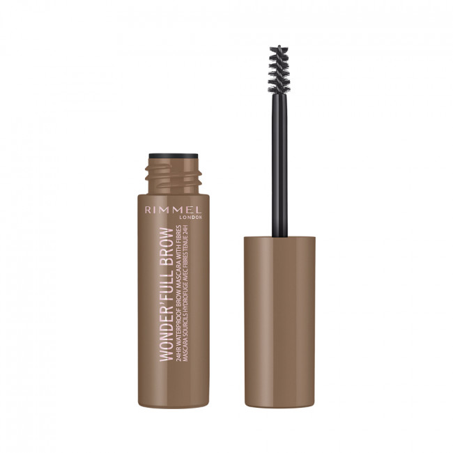 RIMMEL Туш для брів WONDER'FULL BROW №001 LIGHT