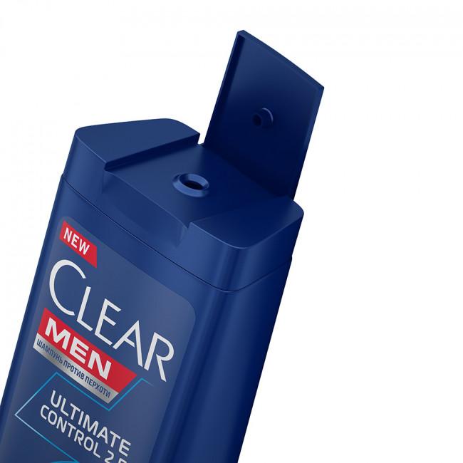 CLEAR Vita ABE Шампунь и Бальзам-ополаскиватель против перхоти для мужчин 2в1 Алтимейт контрол 400мл