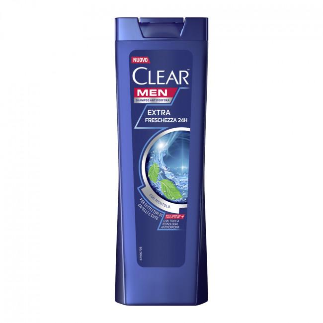CLEAR Vita ABE Шампунь против перхоти Ледяная свежесть для мужчин с ментолом и эвкалиптом, 225мл.