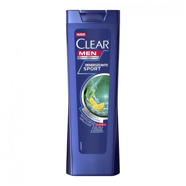 CLEAR Vita ABE Шампунь против перхоти Энергия свежести для мужчин с таурином, 225мл.