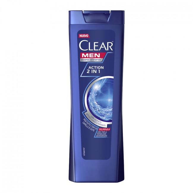 CLEAR Vita ABE Шампунь-бальзам против перхоти Активспорт 2в1, 225мл.