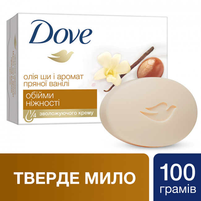 DOVE Крем-мыло Объятия нежности 100гр