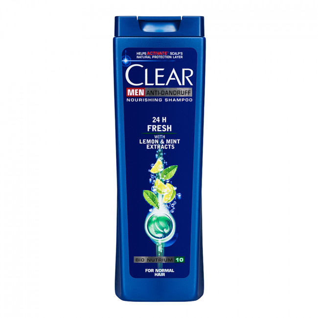 CLEAR Vita ABE Шампунь для мужчин энергия свежести 400мл