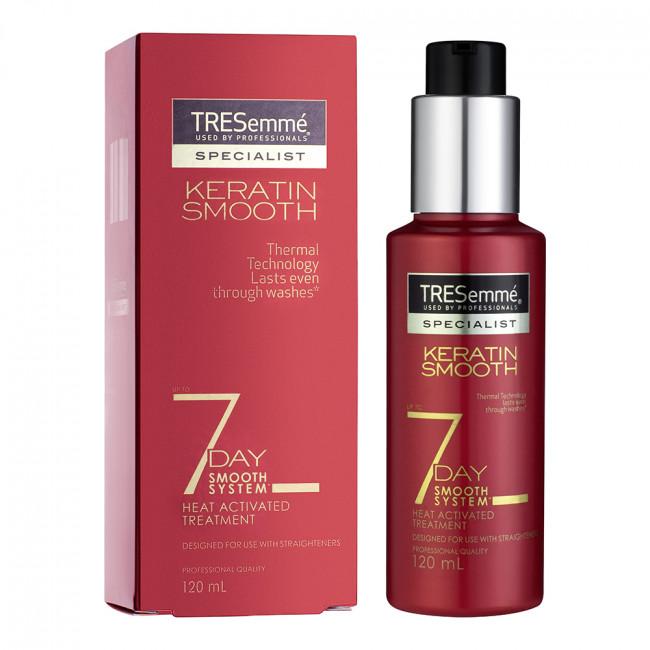 TRESEMME Крем-Праймер для волос разглаживающий Keratin Smooth стойкий эффект 7 дней 120мл