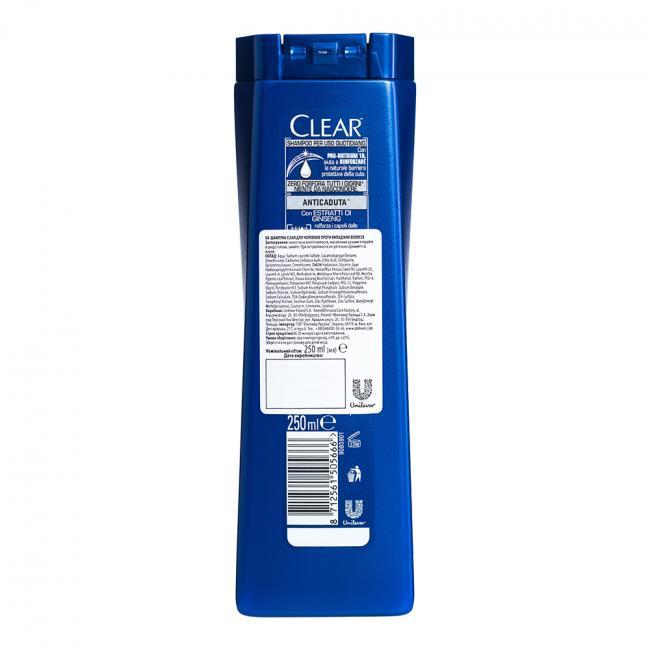 CLEAR Vita ABE Шампунь для чоловіків проти випадіння волосся 250мл