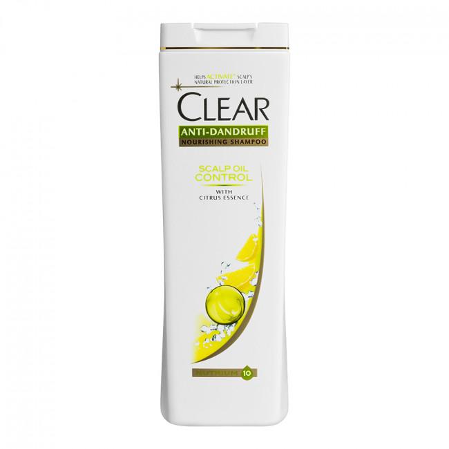 CLEAR Vita ABE Шампунь для жінок баланс жирності шкіри голови 400мл