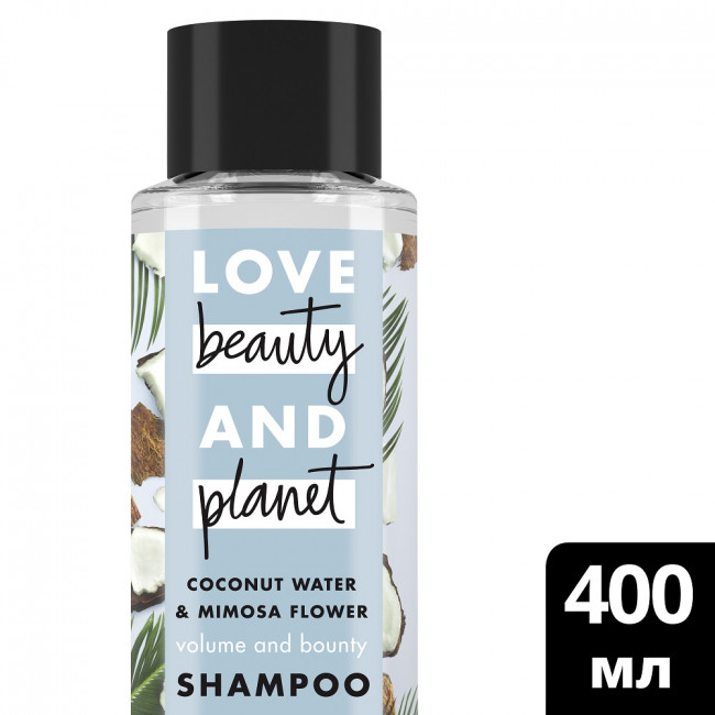 LOVE BEAUTY AND PLANET Шампунь Объем и щедрость 400мл