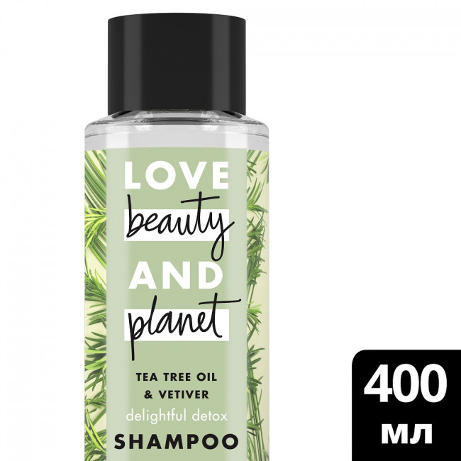 LOVE BEAUTY AND PLANET Шампунь Замечательный детокс 400мл