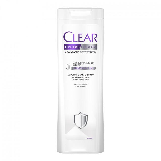 CLEAR Vita ABE Шампунь и бальзам-ополаскиватель против перхоти 2в1 Антибактериальный эффект, 380мл.