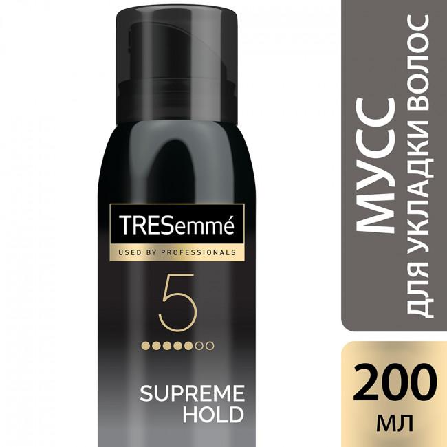 TRESEMME Мус-пінка для укладки волосся сильна фіксація 200мл