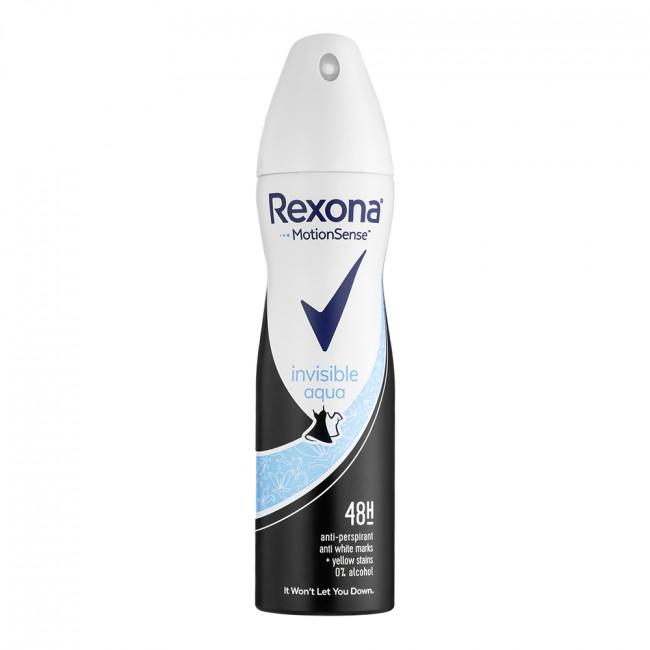 REXONA Антиперспирант аэрозоль Прозрачный кристалл 150мл