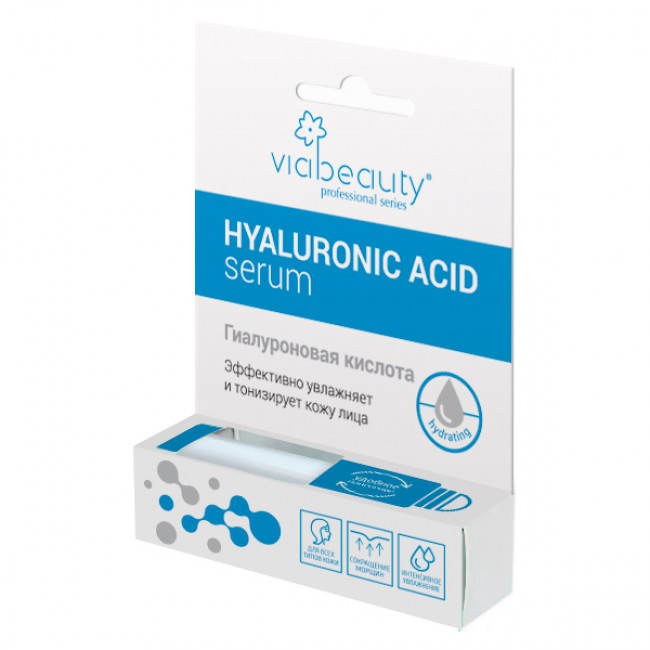 VIA BEAUTY Гиалуроновая кислота Hydrating, 10 мл