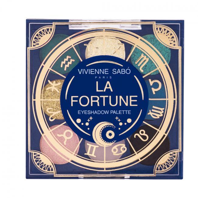 VIVIENNE SABO Палетка теней LA FORTUNE, 9 цветов №01