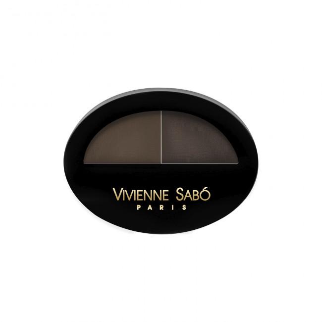 VIVIENNE SABO Тіні для брів BROW ARCADE подвійні №02
