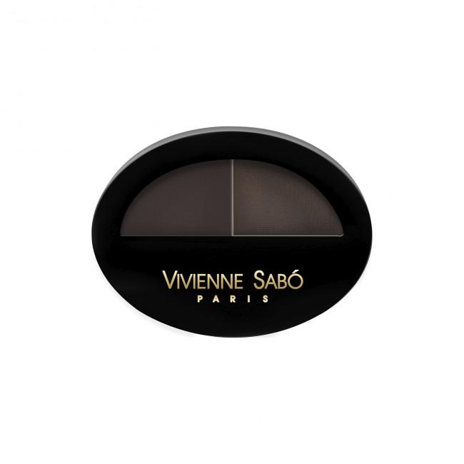 VIVIENNE SABO Тіні для брів BROW ARCADE подвійні №03