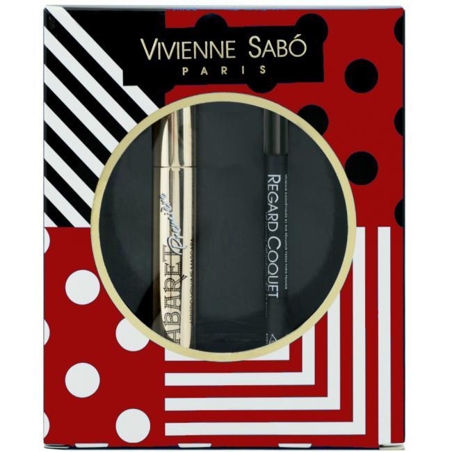 VIVIENNE SABO Набор CABARET PREMIERE Тушь для ресниц черная + REGARD COQUET карандаш для глаз стойкий №401